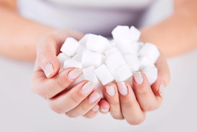 cukier w dłoni