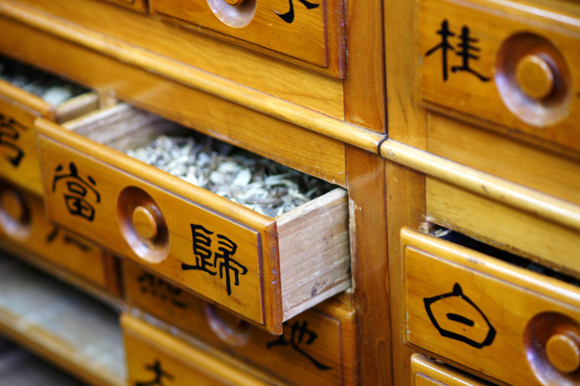 zdjęcie szafek z rozmaitymi znaczkami