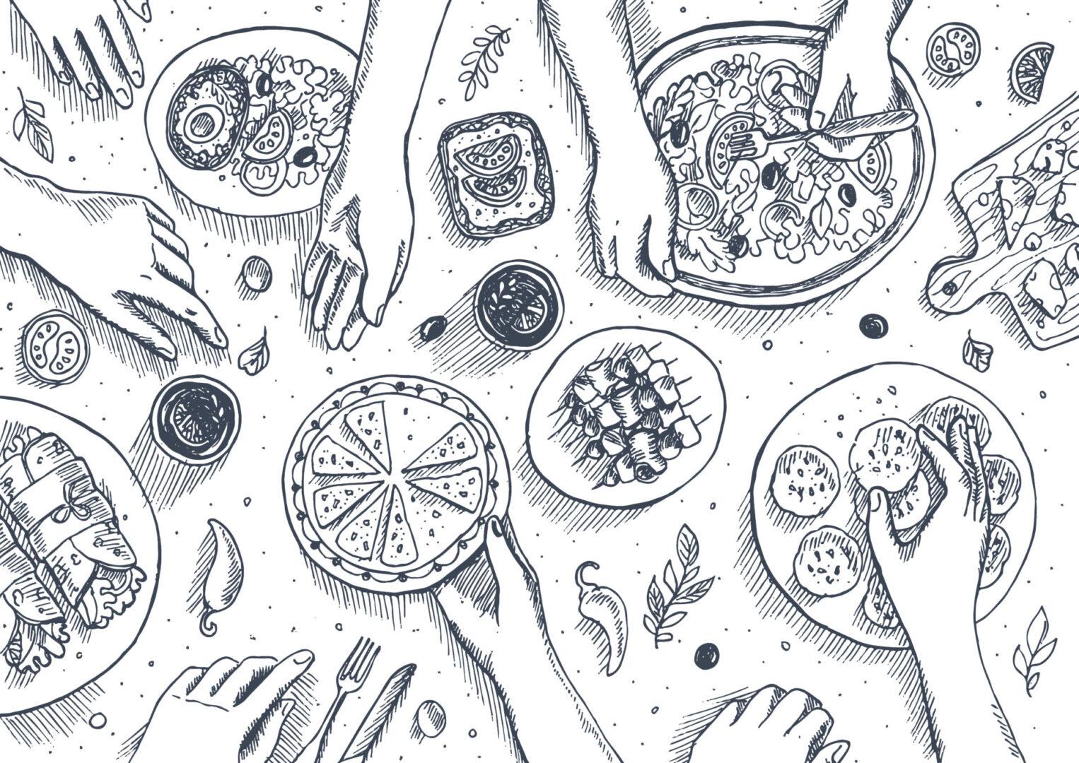 rysunek zjadanie emocji