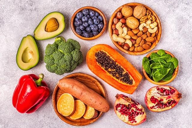 zdjęcie owoców i warzyw